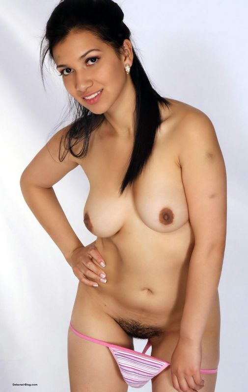 Nud model photo desi