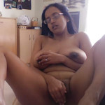 Busty big boobs wife masturbating wet pussy photo
