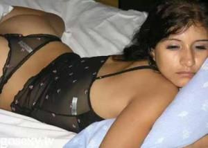 sexy girl bedroom photo