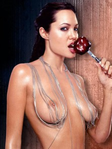 Angelina Joile Hot and Spicy Nude Show Images