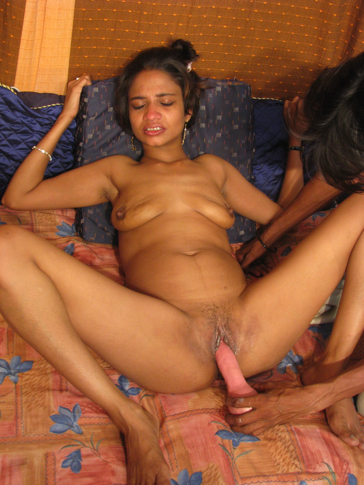 black woman with strawberry in pussy