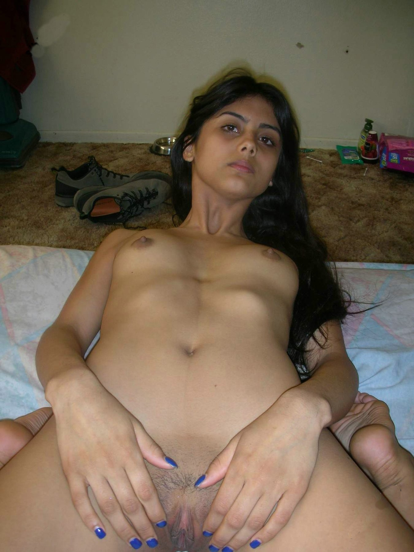 Happy asian girl fucked