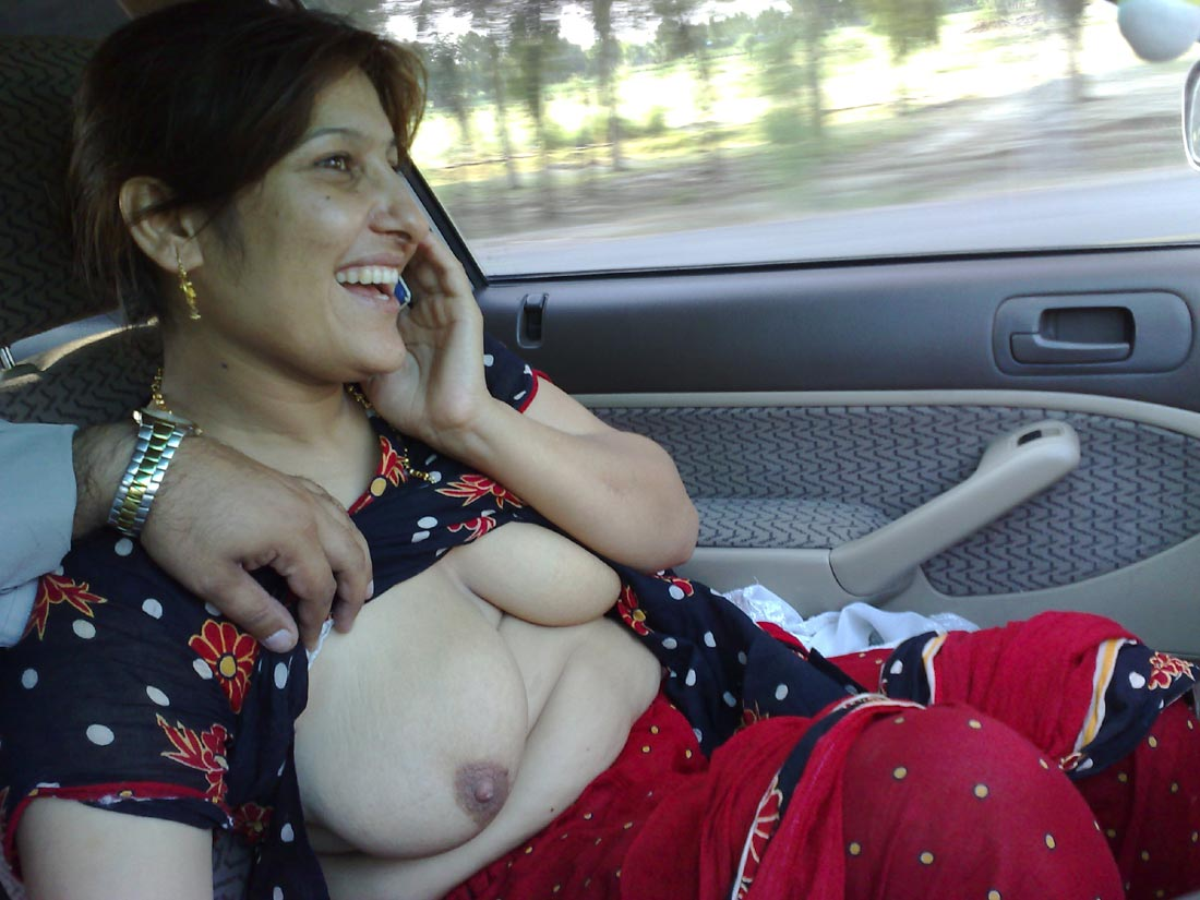 Aunties inside arab car nude