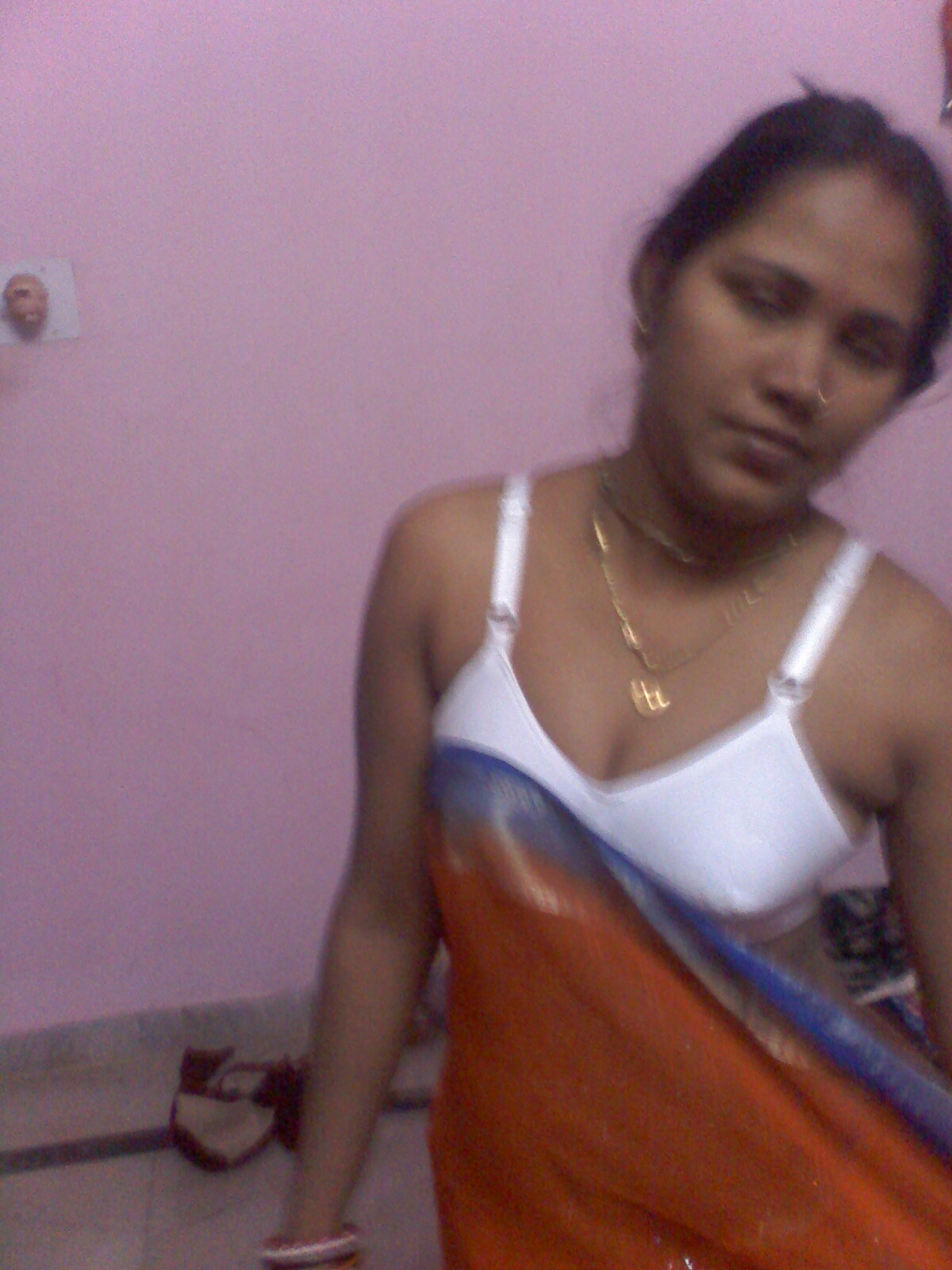 Desi indian bhabhi removing saree consider, that