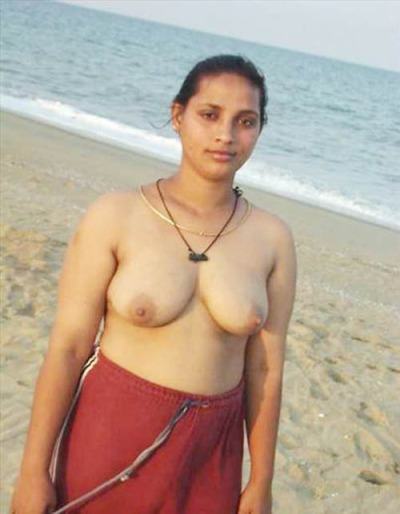 Beach indian couple nude