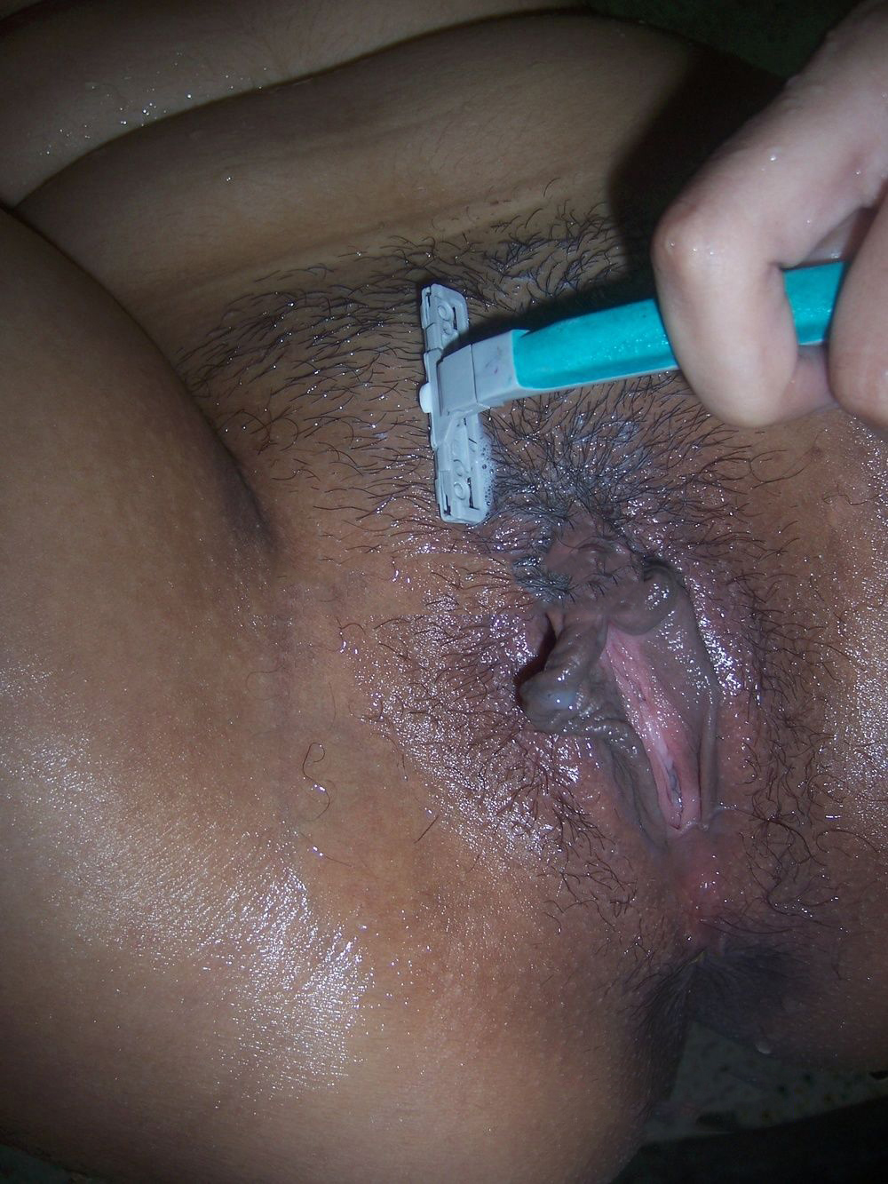 Shaved vagina virgin