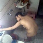 Chubby Indian Bhabhi Sexy Candid Bathroom Pics
