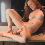 Petite Full Nude Babe Hot Dildo Masturbation Pics