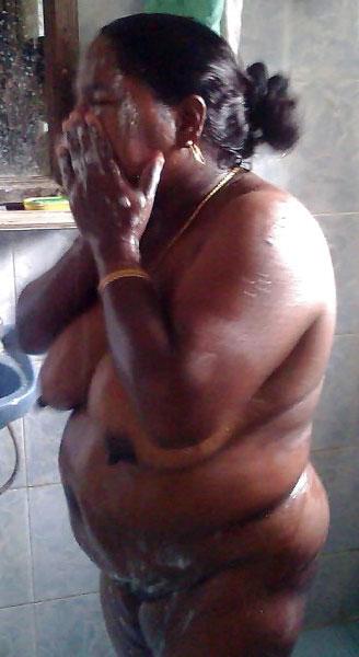 Naked fat women bathroom