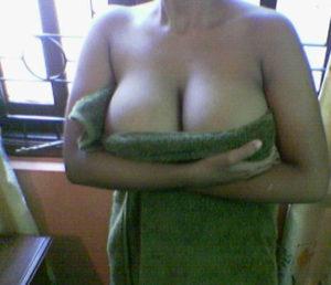 shy big tits babe