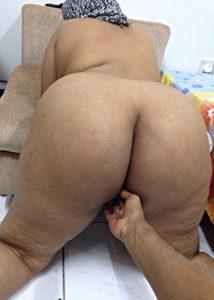 aunty big horny ass