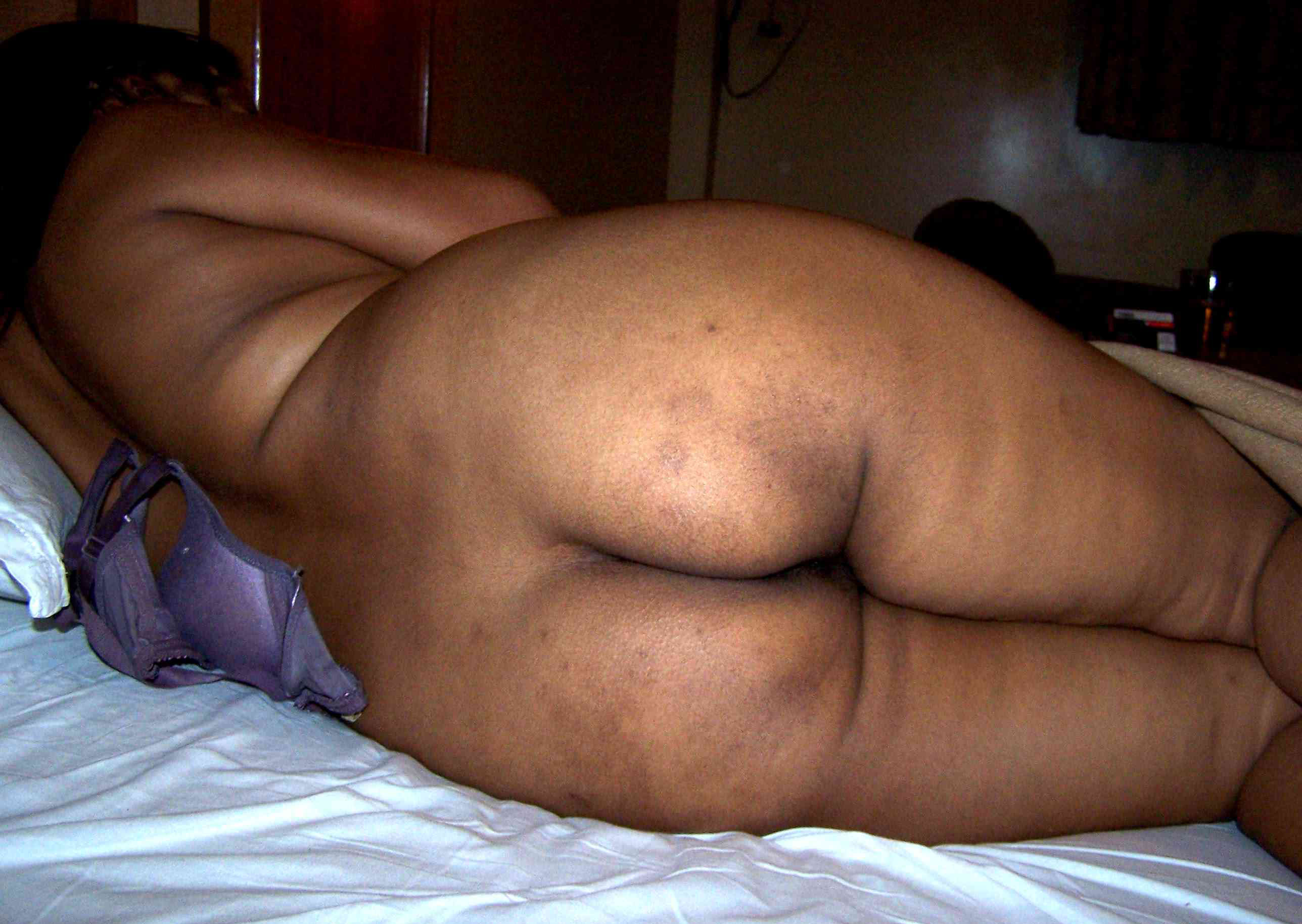 Naked plus size