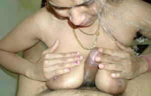 boobs rub cock hard