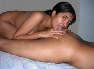 indian girl lick anal
