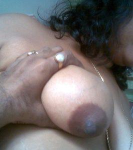 boob press nude aunty