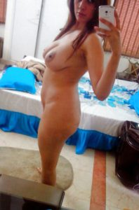 full nude selfie sexy babe