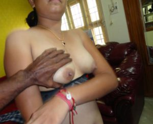 men touching aunty boobs pic