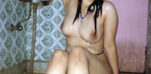 super sexy girl naked bath