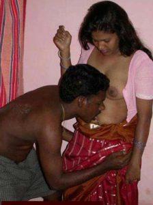 Desi Couple hot boobs nude