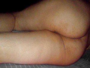 Desi Aunty huge curvy ass sleeping