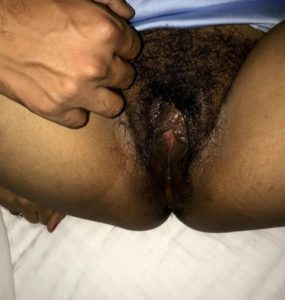 Desi Babe nude wet hairy cunt