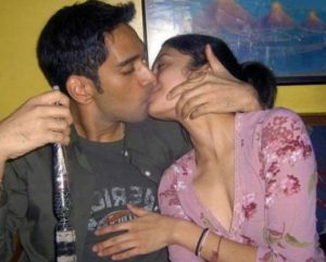 Desi Couple kissing hot