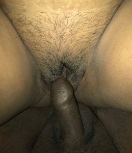 Hot Desi Bhabhi black cock in hairy pussy