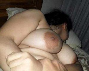 Desi Bhabhi big milky white tits nude