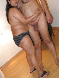 Desi Couple horny bedroom nudes