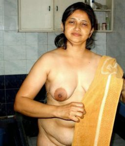 sexy indian milf nude bathroom photo