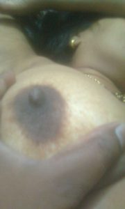 Big round desi dark nipple