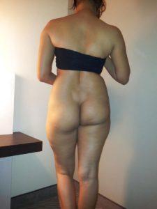 Sexy indian nude bum photo