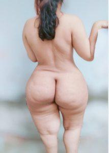Chubby desi naked ass