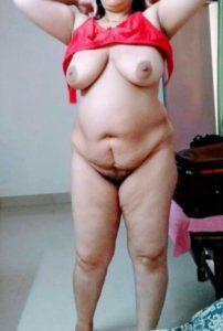 Desi fat aunty boobs pic