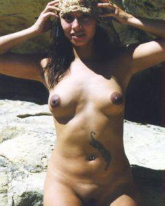 naked aunty nipple pic