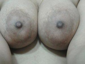 Hot round naked boobs nipple