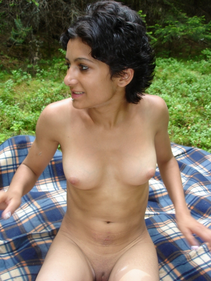 nude indian girls painting
