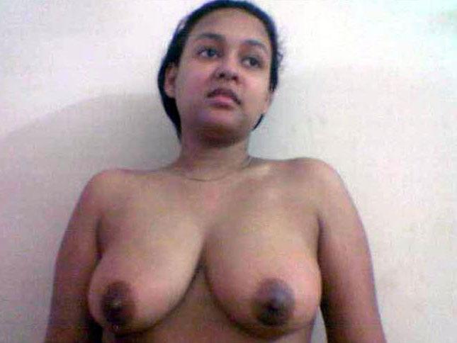 Ebony nude black